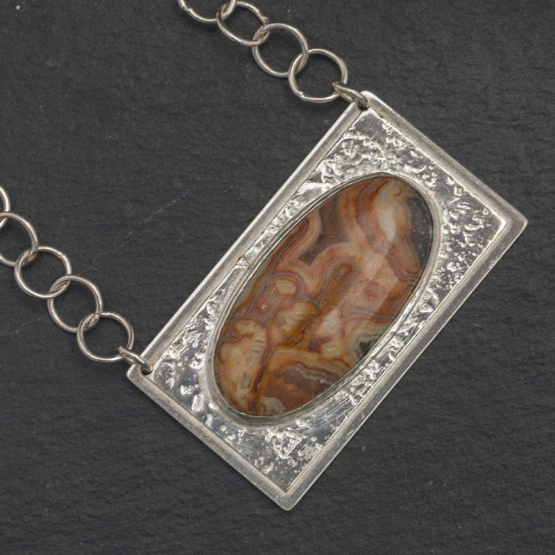 Jasper Pendant and chain